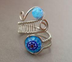 wire weaving jewelry | ... wire wrapped jewelry handmade // woven wire jewelry // wire jewelry