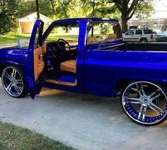 My fav color Custom Chevy Trucks, Chevy Pickup Trucks, Classic Chevy Trucks, Chevy C10, Gm Trucks, Chevy Pickups, Diesel Trucks, Gmc Suv, Classic Cars