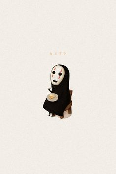 The ghost from Spirited away
