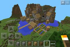 This is the village! The seed is 1405