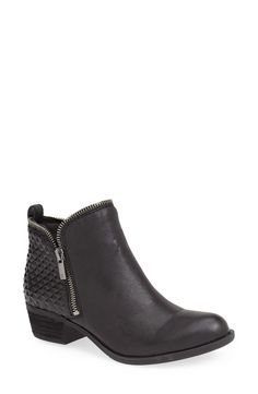 8f7097244 Lucky Brand  Bartalino  Stud Embossed Leather Bootie ...