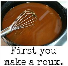 Deep South Dish: Easy Dark Oven Roux