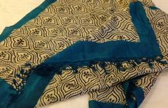 Pure Tussar Silk dupatta. For orders and inquiries, please mail us at naari@aninditacreations.com.  Like our page www.facebook.com/naari.aninditacreations