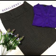 🔴Clearance! Vintage High-Waist Pencil Skirt Vintage Pencil Skirt from the 90's in top-notch condition. Lightweight material makes it a perfect skirt for summer. Knee-length and high-waisted with a small slit in the back. Sizing is a juniors 5 but fits like a regular size 4. Perfect for work! Partially lined in purple satin, not see through at all. •••••••••••••••••••••••••••••••••••••••••••••••• ALL CLEARANCE PRICES ARE **FIRM** Offers not accepted on this item…