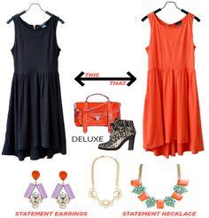 mix & match hnm dress