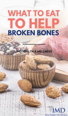 Bone Healing Foods, Vitamins For Bones, Heal Broken Bones, Health And Wellness, Health Fitness, Bone Fracture, Healthy Groceries, Hot Mess, Foods To Eat