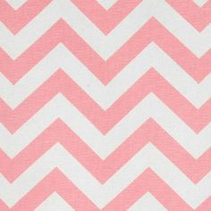 Premier Prints Fabric Zig Zag Chevron print in Baby Pink and White.    Fabric Info:  *Cut fresh from the bolt.  *100% 7 ounce cotton, perfect for