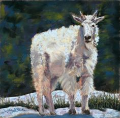 High Country Friend Painting by Mary Benke - High Country Friend Fine Art Prints and Posters for Sale
