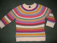 I am the queen of colourful jumpers. I wonder why this is not in my possession.