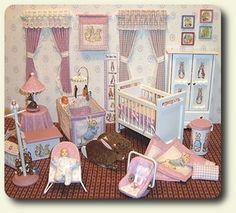 room for dollhouse miniature nursery