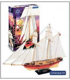 Constructo 80565. Kit maqueta barco Dominica. Iniciación al modelismo