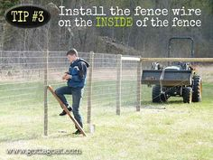 Install the Fence Wire                                                                                                                                                                                 More