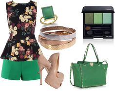 """""""secret garden"""" by miriam-robles-r on Polyvore"""