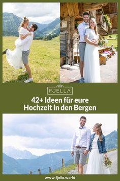 Dem Himmel so nah bei einer Heirat in den Bergen! Ob Standesamt, Kirche, Kapelle, Alm, Berghütte, Chalet, See, urig oder schick, werdet bei unseren 42 Ideen für eure Hochzeit in den Bergen fündig! ..................................  #hochzeit #berghochzeit #trauung #berge  Berghochzeit, Hochzeit Berge, Heiraten in den Bergen, Hochzeit in den Bergen, Alm Hochzeit, Almhochzeit, Hochzeit auf der Alm, Hochzeitslocation, Berge, Standesamtlich, Kirchlich, Feier, Hochzeitsfeier, Ort Bergen, Lifestyle, Wedding, Cottage Wedding, Unique Weddings, Church Weddings, Civil Wedding, Valentines Day Weddings, Weddings