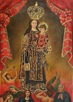 Virgin of Mount Carmel ' Art by Fernando Sayan Polo
