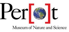 Perot Museum of Nature and Science Logo and Identity.  Dallas, Texas.