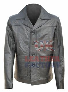 $292-HOT SALE-Celebrity Brad Pitt Fashion Styled 100% genuine best leather jackets from Killing Them Softly Movie. Finesse craftsmanship to show celebrity looks instantly. High-Fashion styling outfit for men from premium online shopping outlet. FREE SHIPPING.