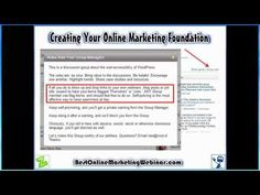 Expanding Your Online Marketing Foundation
