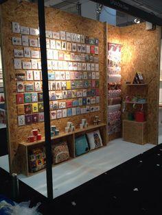 @Jo Hudock Deer 's chipboard exhibition display