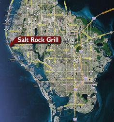 Salt Rock Grill Treasure Island Florida