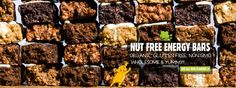 Don't Go Nuts | Nut Free Energy Bars and Soy Butters
