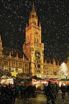 Christmas Market in Munich, Germany