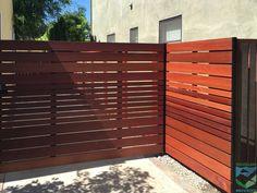 this Ironwood gate w