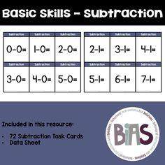 Basic Skills - Subtr