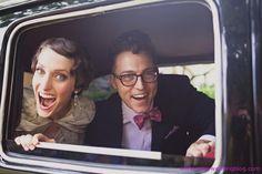 Jane & Brian, too cute.
