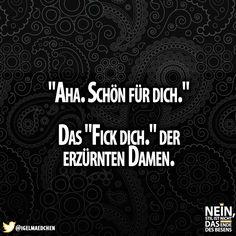 Aha :D #Schönfürdich #Damen #F-Wort #F*** #Dich #besenstilvoll #Lachenistgesund #Spaß #Deutschland #lachen