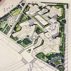 60층 주상복합+공원...법때매 어찌해볼수가웁... 젖만한땅에서 공개공지/자연지반/생태면적/면적...우째다찾노 Bs #Environmental #Design #Group #LandscapeArchitecture & #Associates #sketch #drawing #plan #note #conceptplan