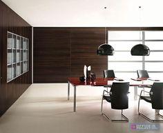 Meble gabinetowe z serii EOS. Luksusowe biurka wzbogacone prestiżowymi materiałami, esencjalne formy geometryczne, minimalistyczny i jednocześnie bogaty styl.
