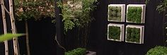Maak je eigen kruidenbak   Eigen Huis & Tuin Leuk idee voor onze lange tuinafscheiding die nu bestaat uit een heeeeele lelijke schutting. Zwarte verticale planken met een centimetertje tussenruimte, onze mooie grote spiegel en een verticale kruidentuin in bakken. Mooi!!