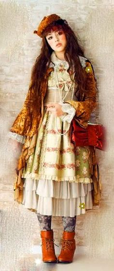 Dolly kei.  My favorite twist on the variations of Lolita style.