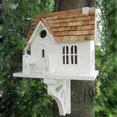 Home Bazaar HB-2039S Classic Series Cozy Cottage Bird House - Outdoor Living Showroom