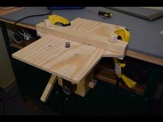 (1167) Make Mini Drill Press, Router base, Router table, Drum sander (in one tool), Part 2 - YouTube