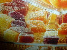 caramelle gommose - alla frutta brinate