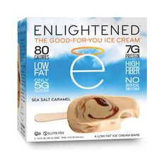 Packed with protein, fiber, and flavor — and light on calories, fat, and sugar — ENLIGHTENED Ice Cream and snacks taste great, and is what your body needs.