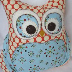 Cute stuffed owl.