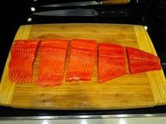 Many people have asked us how to prepare salmon for sushi, so we decided to put the step by step instructions. 1. Buy Ora King Salmon from Monterey Fish Marke