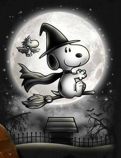 Snoopy and Woodstock Halloween Snoopy Halloween, Halloween Quotes, Halloween Art, Happy Halloween, Disney Halloween, Feliz Halloween, Halloween 2019, Snoopy Et Woodstock, Snoopy Love