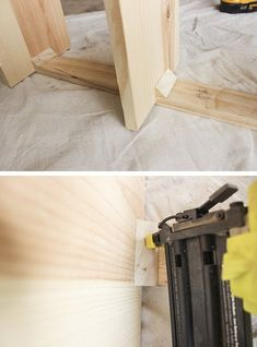 How to make a space-saving and sturdy spine bookshelf using only 2 boards, that will add extra storage and an eye-catching display for books. Vertical Bookshelf, Extra Storage, Space Saving, Bookshelves, Wood Projects, Home Appliances, Diy Crafts, How To Make, Furniture