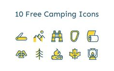 10-free-camping-icons