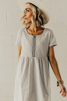 Lucy Stripe Dress | ROOLEE