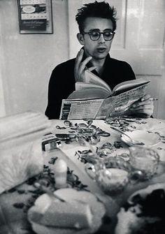 James Dean par Dennis Stock 1955 R