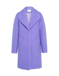 Carven Felted Wool Oversized Coat