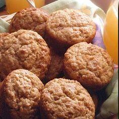 Muffins aux bananes, sans oeufs, sans lait