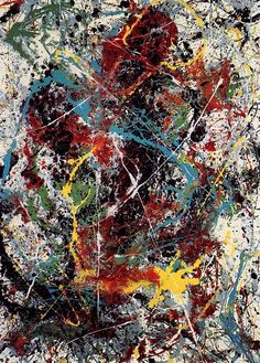 Jackson Pollock - One: Number 31 (1950).