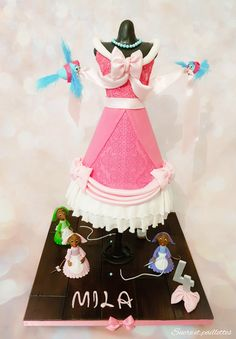 Gateau cendrillon robe