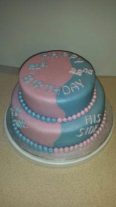 His And Hers Birthday Cake Cakes Pinterest Birthday